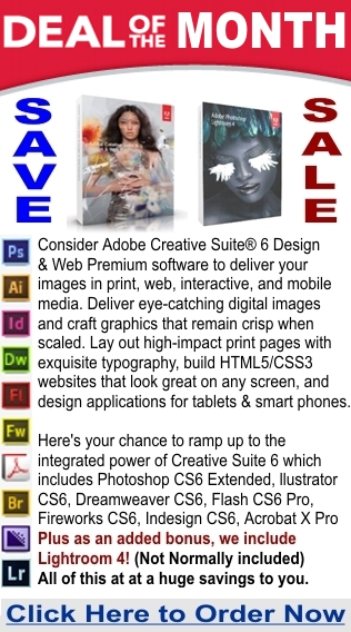 CLICK HERE TO BUY NOW Adobe Creative Suite 6 Design & Web Premium Full Version with Bonus Lightroom 4 for Only $300.00!!